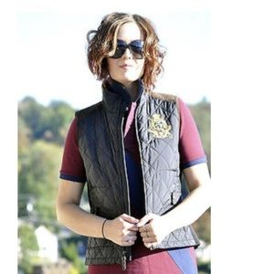 Ralph Lauren Sport Quilted Vest women Size L